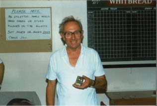 Photograph of Stan in 1996