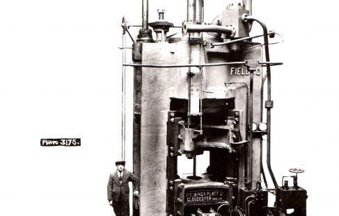 1500 ton Vertical Extrusion Press, O/No. 7319, c.1935