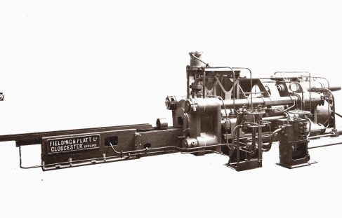 750 ton Horizontal Extrusion Press, O/No. 7792, c.1936