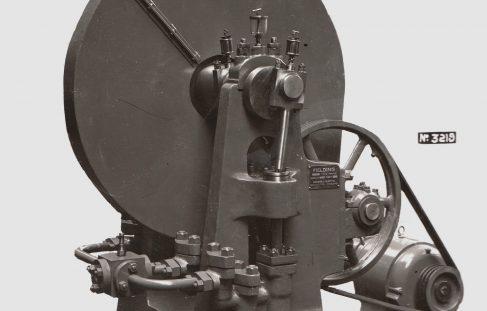 Three-Throw Vertical M D Pump with B & S Drip Feed Lubrication, O/No. 7963, c.1937