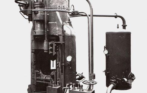 1000 ton Vertical Extrusion Press, O/No. 7800, c.1936