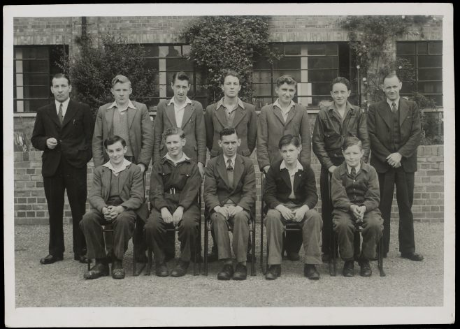 Apprentice intake February 1948