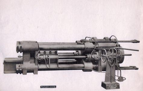 600 ton Horizontal Extrusion Press, c.1916