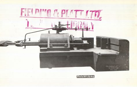100 ton Bender & Straightener, c.1919