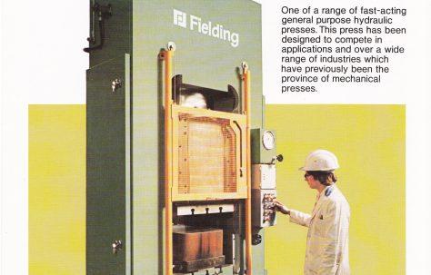 300 ton Single-Acting Downstroking Hydraulic Press