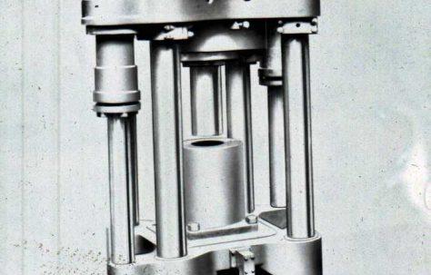 900 ton Lead Pipe Extrusion Press, O/No. 7421, c.1935