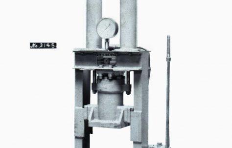 10 ton Bushing Press, O/No. 7343, c.1935