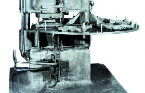 100 ton Six-Station Tile Press, O/No. 7552, c.1936