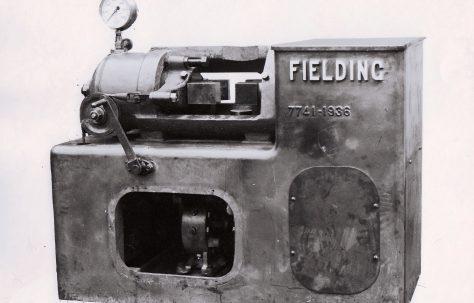 125 ton Horizontal Shell Banding Press, O/No. 7741, c.1936