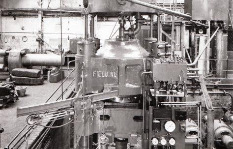 2500 ton Heading & Indenting Press, O/No. 8217, c.1938