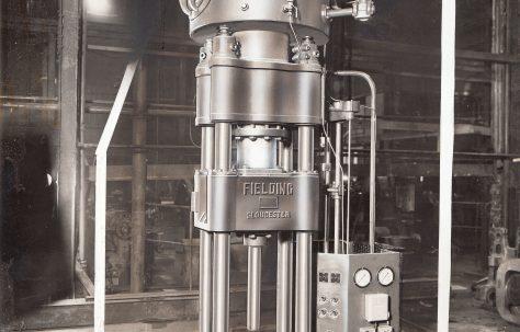 350 ton Piercing & Drawing Press, views taken c.1942, O/No. 8347, c.1938