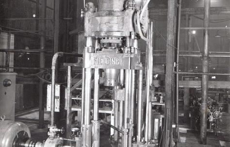 70 ton Tapering Press, O/No. 8581, c.1939