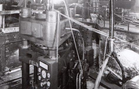 1500 ton Heading Press, O/No. 8723, c.1939