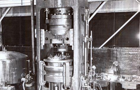 1500 ton Heading Press, O/No. 9356, c.1940