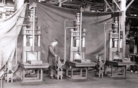100 ton Discard Shearing Presses, O/No. [4525], c.1945