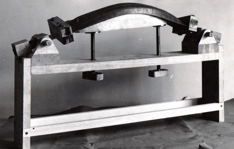 Model of a Ship's Hull-Forming Machine, c.1942