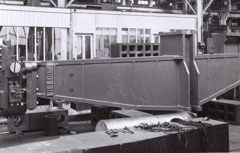 100 ton Fixed Rivetter, 16' Gap, O/No. 5261, c.1945