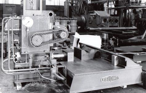 10 ton Spring Cambering Press, O/No. 6586, c.1950