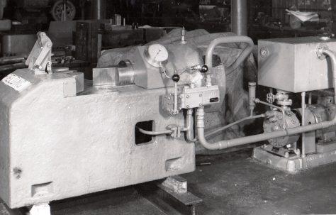 150 ton Bar Breaking Press, c.1949