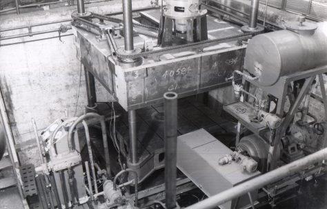 300 ton Upstroking Armature Forcing Press, O/No. 3480, c.1951