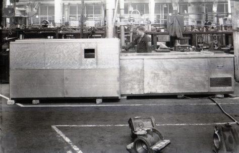Edge Gluing Machine, O/No. 3630, c.1951