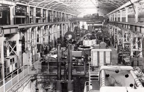 Photographs of Hydraulic No.1 Heavy Machine and Fitting Shop