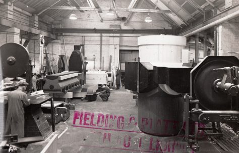 Photograph of the Pattern Shop
