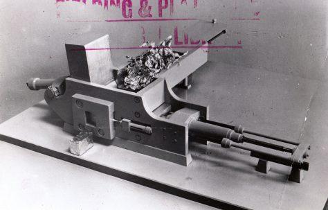 Model of a Scrap Metal Baler Type 'Sawar' Lindemann, c.1956