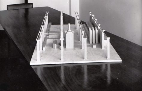 Model of a Shell Forging Plant, c.1957