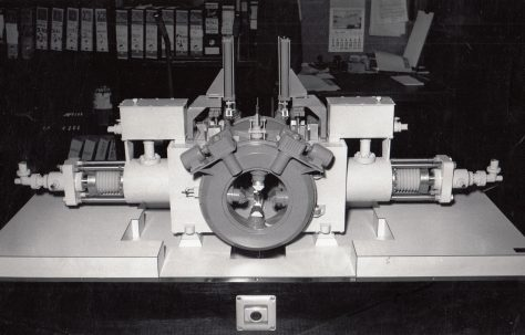 Model of a Cogging Forge Press, c.1965