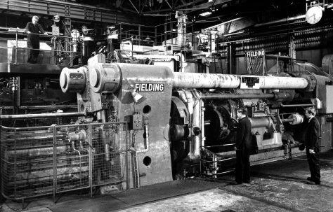 3500 ton Horizontal Extrusion Press, O/No. 61360, c.1961