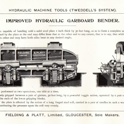 A Hydraulic Garboard Bender    D7338/14/5/17/7024 | Gloucestershire Archives