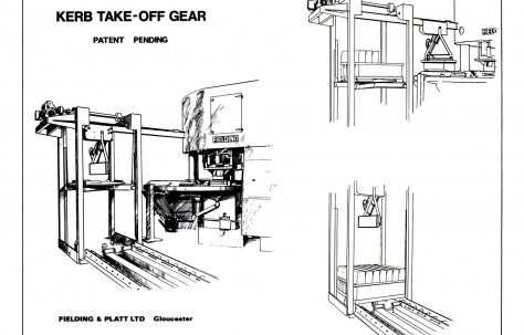 Artists impression of a Kerb Take - off gear, c.1968