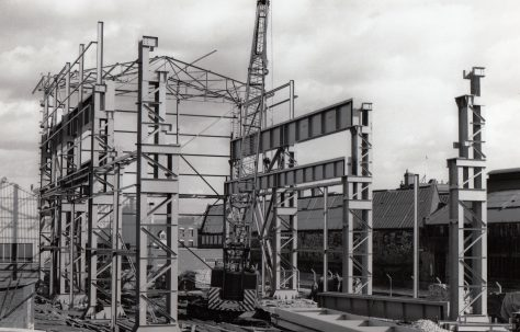 Photographs of the 'New' Heavy Assembly Shop under construction, Part 1 of 3