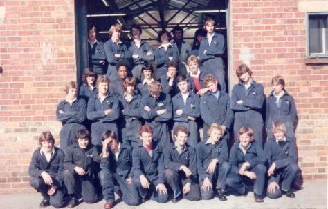 Apprentice intake 1978