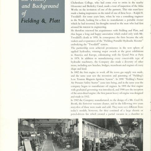 Apprenticeship in Hydraulic Engineering brochure