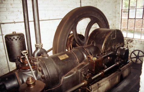 Fielding 60 BHP Oil Engine at Blist Hill Victorian Town