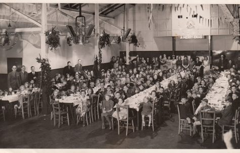 Children's Christmas Tea Party, 1946