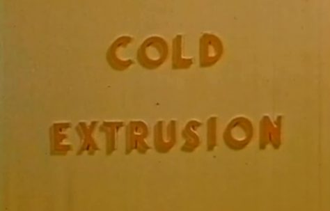 Cold Extrusion