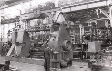 Photographs of Wheel Presses