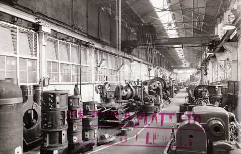 Photographs of the Heavy Machine Shop