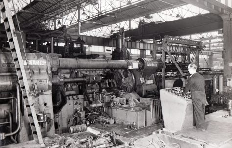 Photographs of Extrusion Presses