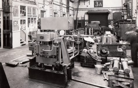 Photographs of Munitions Presses