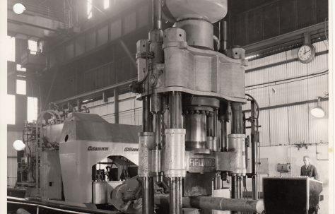 Photographs of Forging Presses