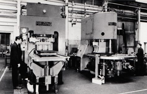 How Fielding's Slab Presses were different from the rest?