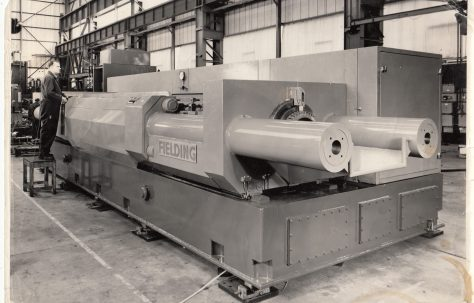 120 ton Deep Drawing & Ironing Press (with audio clip)