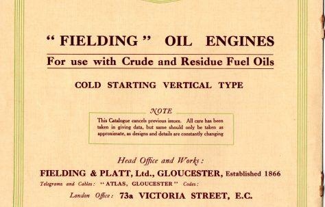 Vertical Oil Engine