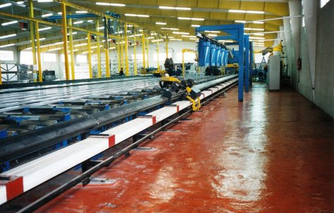 Photographs of 'Edwards' Extrusion Handling Equipment, O/No. 301-65570, c.1993