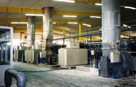 Photographs of 'Galvasol' Anodising Equipment, O/No. 301-65570, c.1993