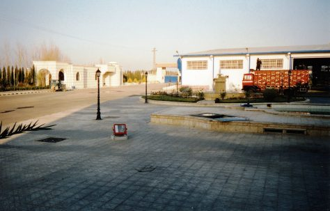 Photographs of site views taken outside the factory, O/No. 301-65570, c.1993